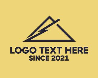 Thunder - Thunder Mountain  logo design
