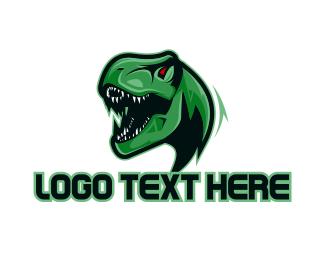 Dinosaur - Modern Raptor  logo design