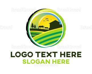 Horse - Horse Farm logo design