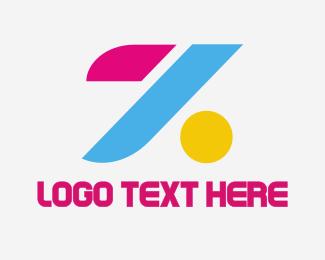Easy - Colorful Letter Z logo design