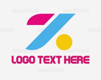 Blocks - Colorful Letter Z logo design