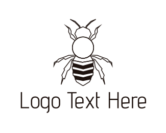 Pest - Black Insect logo design