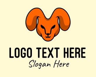 Woodland - Rabbit Head Mascot logo design