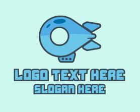 Locator - Fly Blimp Locations logo design