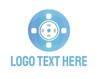 Reel - Blue Reel logo design