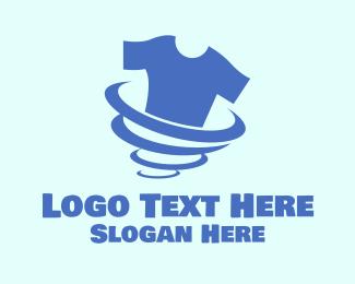 Shirt - T-shirt Laundry Tornado logo design