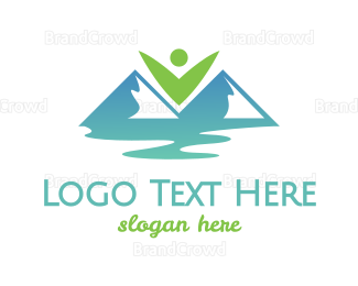 Creek - Eco Valley logo design