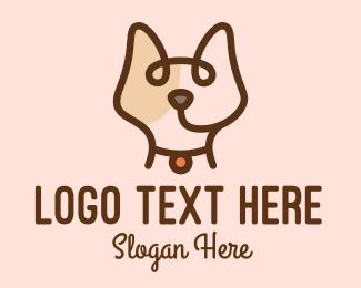 Pet Care - Minimalist Pet Head logo design