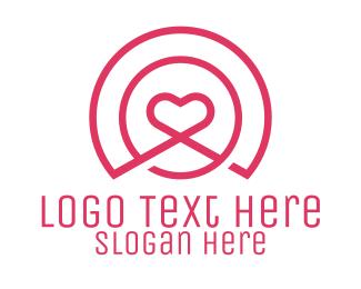 Medical Heart Signal Logo