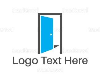 Entry - Blue Open Door logo design