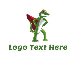 Super Gecko Logo
