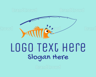 Hobby - Fishing Club logo design