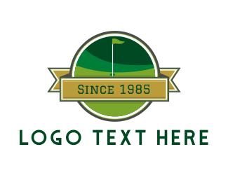 Golf Course - Golf Course Club logo design