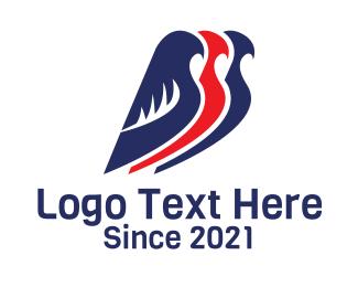 Aviation - Bird Aviation Airline logo design