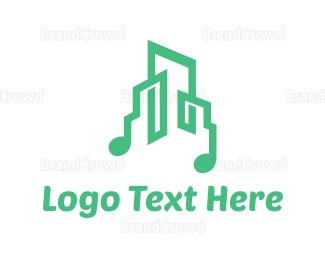 Musician - Music City logo design