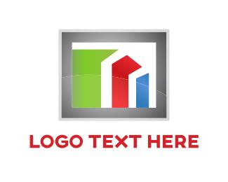 Development -  Financial Bars logo design
