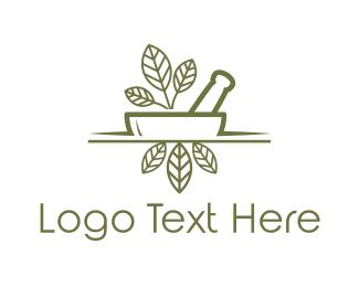 Mortar - Natural Medicine logo design