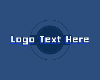 Laptop Computer - Technology Branding Wordmark logo design