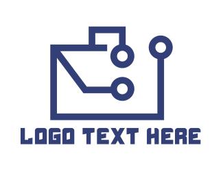Business Trip - Business Tech Purse logo design
