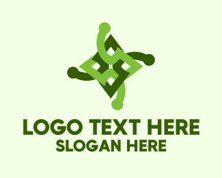 Joint - Green Star Diamond logo design