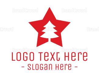 Moscow - Tree Star logo design
