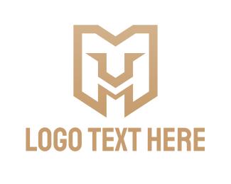 Mv - Lion Gaming M logo design