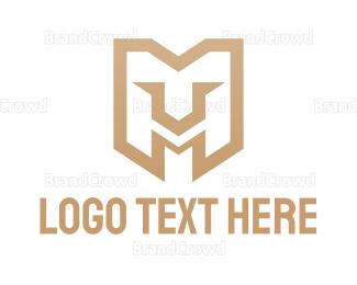 Lioness - Lion Gaming M logo design