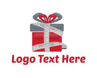 Gift Box - Tailor Gift logo design