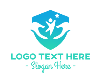 Child Care - Youth Support Care Provider logo design