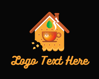 Biscuit - Biscuit & Tea logo design