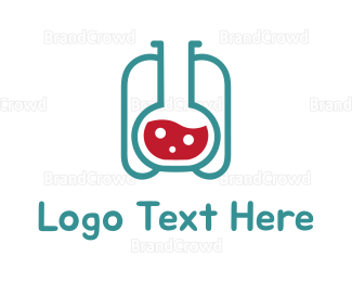 Beaker - Lab Tank logo design