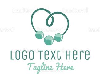 Diy - Beads Heart logo design