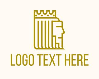 Sovereign - Royal Medieval King logo design