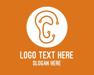Digital - Digital Ear logo design