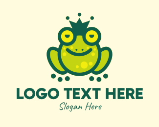 Story Book - Stoned King Frog logo design