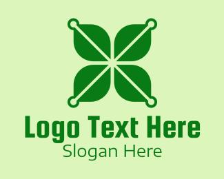 Lucky - Lucky Clover Lock logo design