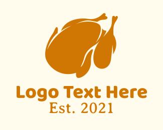 Restaurant - Minimalist Roasted Chicken logo design