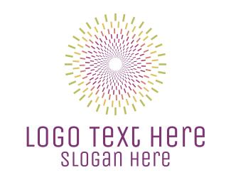 Starburst - Colorful Starburst  logo design