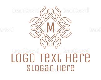 Ancestor - Celtic Pattern Lettermark logo design