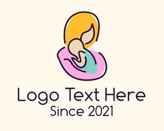 Pregnancy - Mother Care logo design