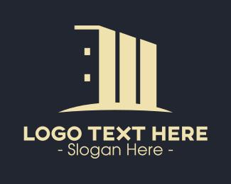 Condo - Modern Condo Building logo design