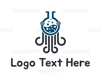 Octopus - Lab Octopus logo design