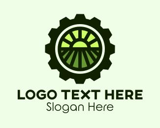 Agriculturist - Agricultural Farm Gear logo design