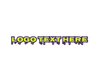 Liquid - Liquid & Slimy logo design