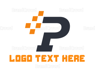 Automotive - Automotive Letter P logo design