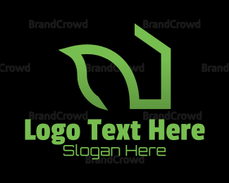 Renewable - Green House logo design