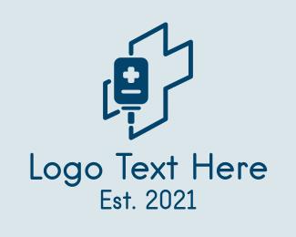 Medic - Medical Cross Dextrose logo design