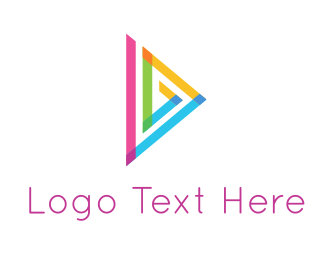 Digital - Triangle & Play logo design