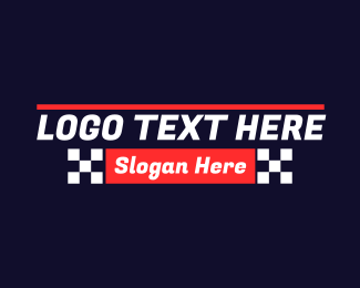 """Automotive Racing Text "" by brandcrowd"