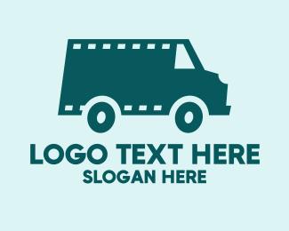 Videography - Blue Film Van  logo design